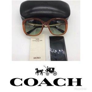 Coach Amber 55 MM Sunglasses